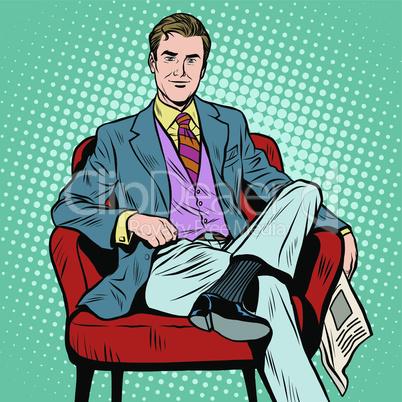 Boss businessman Director
