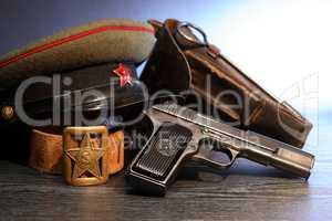 Soviet Military Officer Equipment