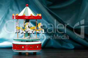 Wooden Toy Carousel