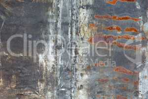 Old metal iron rust background
