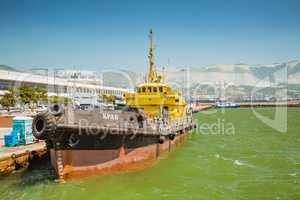 Large tugboat berth
