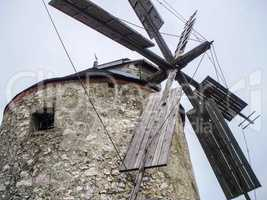 Sail of a windmill