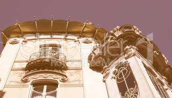 Casa La Fleur Turin vintage