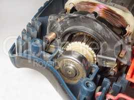 electromotor closeup
