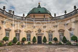 Baroque Buchlovice castle