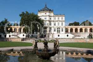 Famous Baroque castle - Ploskovice