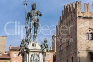 Fountain of Neptune, symbol of Bologna