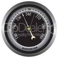 Barometer - air pressure measurements