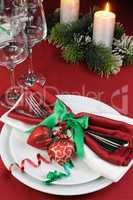 How to decorate the Christmas table