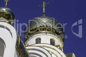 Church gold domes