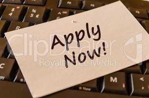 Apply online text note