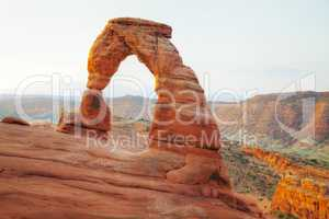 Delicate Arch at the Arches National park