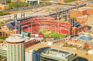 Busch baseball stadium in St Louis, MO
