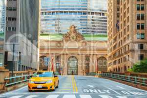 Grand Central Terminal viaduc and old entrance