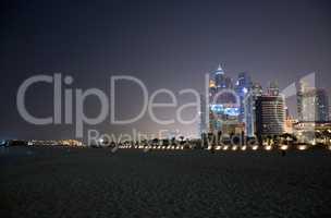 Dubai bei Nacht, VAE