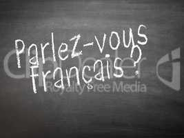 Learning language - French