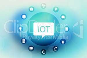 Composite image of internet of things