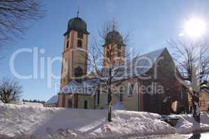 Wallfahrtskirche in St. Märgen