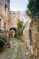 Alley in Bussana Vecchia