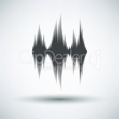 Music equalizer icon