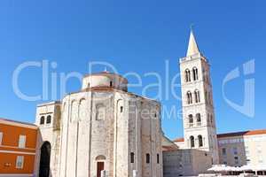 Church of saint Donat in Zadar, Croatia from 9th century