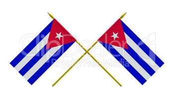 Flags, Cuba