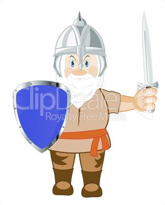 medieval warrior.eps