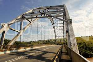 Arch Bridge Over Mtamvuma River Close-up