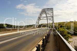 Arch Bridge Over Mtamvuma River