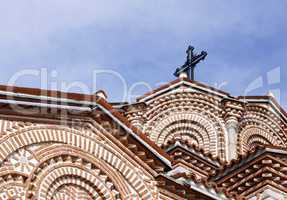 Details of Saint Panteleimon church in Ohrid