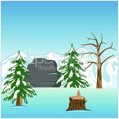winter in wood.eps