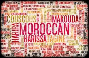 Moroccan Food Menu
