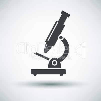 School microscope icon