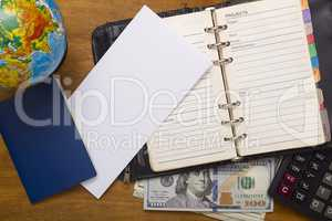 Open daily, passport and money.