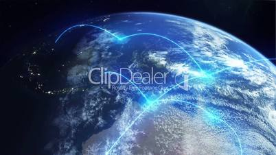 Global Network - Blue