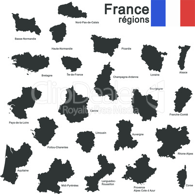 country France silhouette