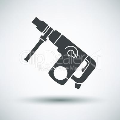 Electric perforator icon
