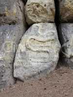 Snake - rock relief
