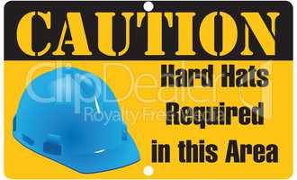 Hard Hats Required in this Area