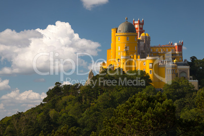 Portugal. Pena Palace in Sintra