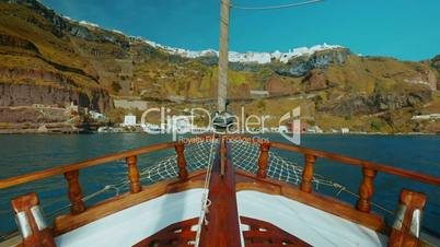 Sailing Through the Mediterranean Ultra Wide Angle POV