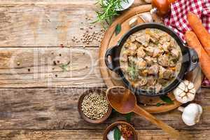 stewed meat