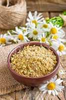 Dry chamomile