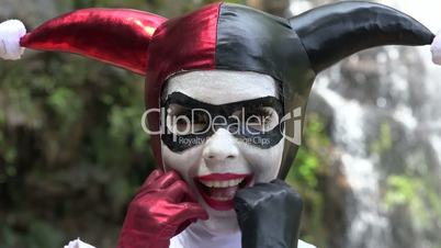 Fun Cosplay Jester Girl