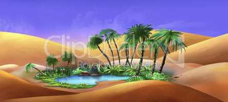 Oasis in a Desert