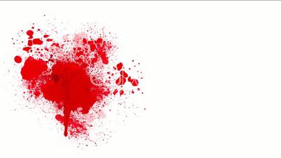 High-definition abstract blood background 3d render, HD 1080p