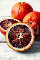 unusual orange red