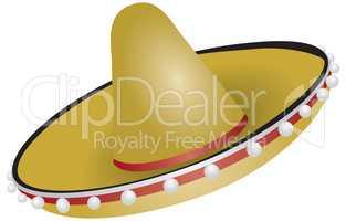Authentic Mexican sombrero