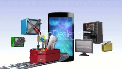 Smart phone,app application tool for developer, programmers (included Alpha)
