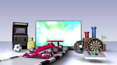 Game contents for Smart TV,Wide TV, Entertainment contents.